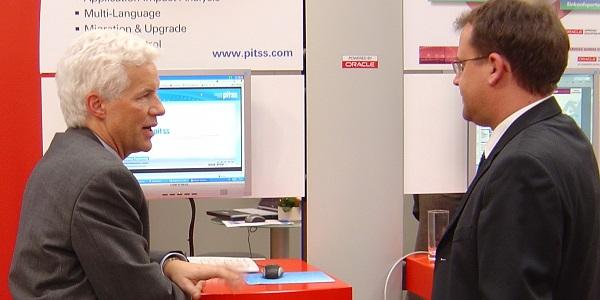 PITSS Geschäftsführer Andreas Gaede auf der ICIS Usergroup Konferenz