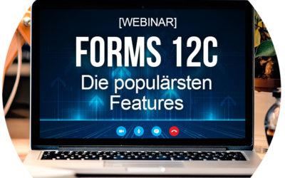 Oracle Forms 12c Webinar – Rückblick und Q&A