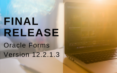 Oracle Forms 12.2.1.3 – Was ist neu?