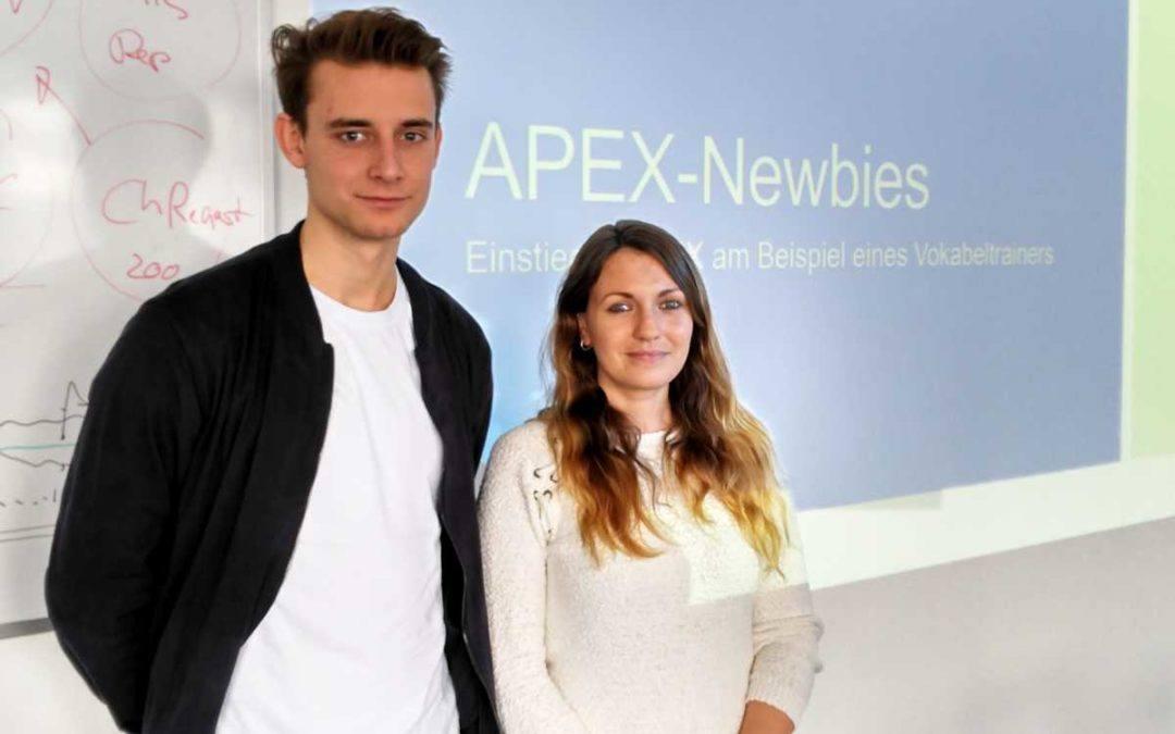 Die Gewinner der APEX Programming Competition mit Vortrag auf der DOAG 2017