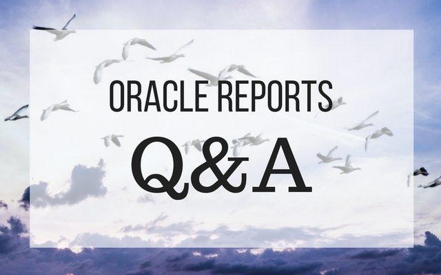Q&A zur Reports-Migration