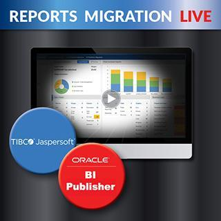 Oracle Reports Migration Jasper BI Webinar
