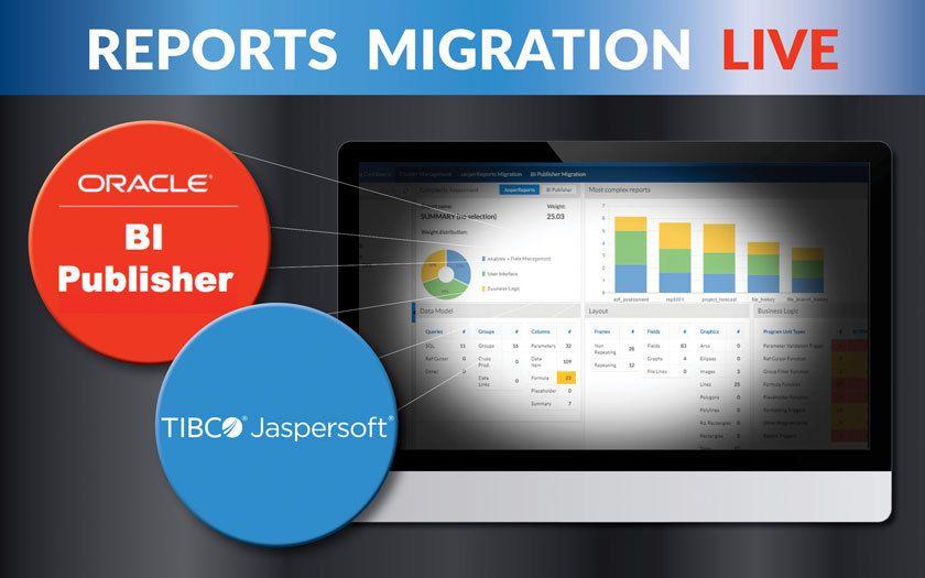 EN – Live Reports Migration – 60 Minutes to BI Publisher or Jasper Reports! [WEBINAR]