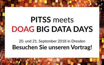 DOAG 2018 Big Data Days: Besuchen Sie unseren Vortrag!