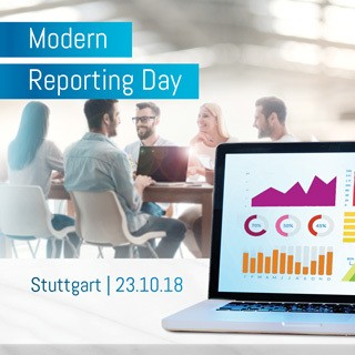 Modern Reporting Day am 23.10.2018 mit TIBCO Jaspersoft