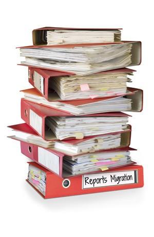 Reports Migration Dringlichkeit