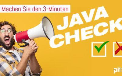 Schneller Online-Java-Check klärt über Notwendigkeit einer Java-Lizenz auf