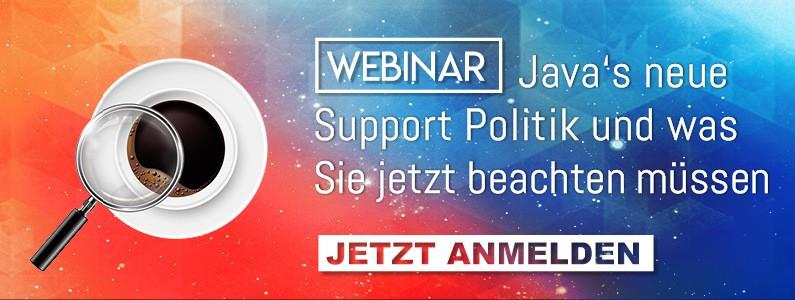 Webinar Java Support