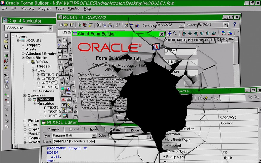 Das Ende von Oracle Forms?