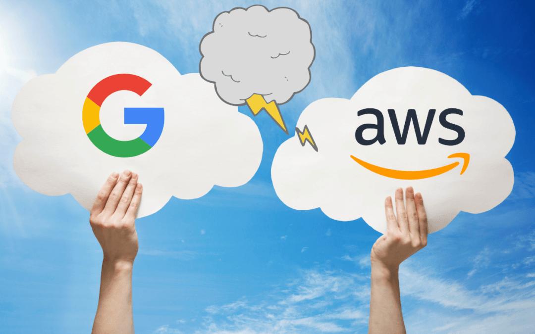 Google vs. Amazon – Angriff auf AWS mit Google Cloud for Retail