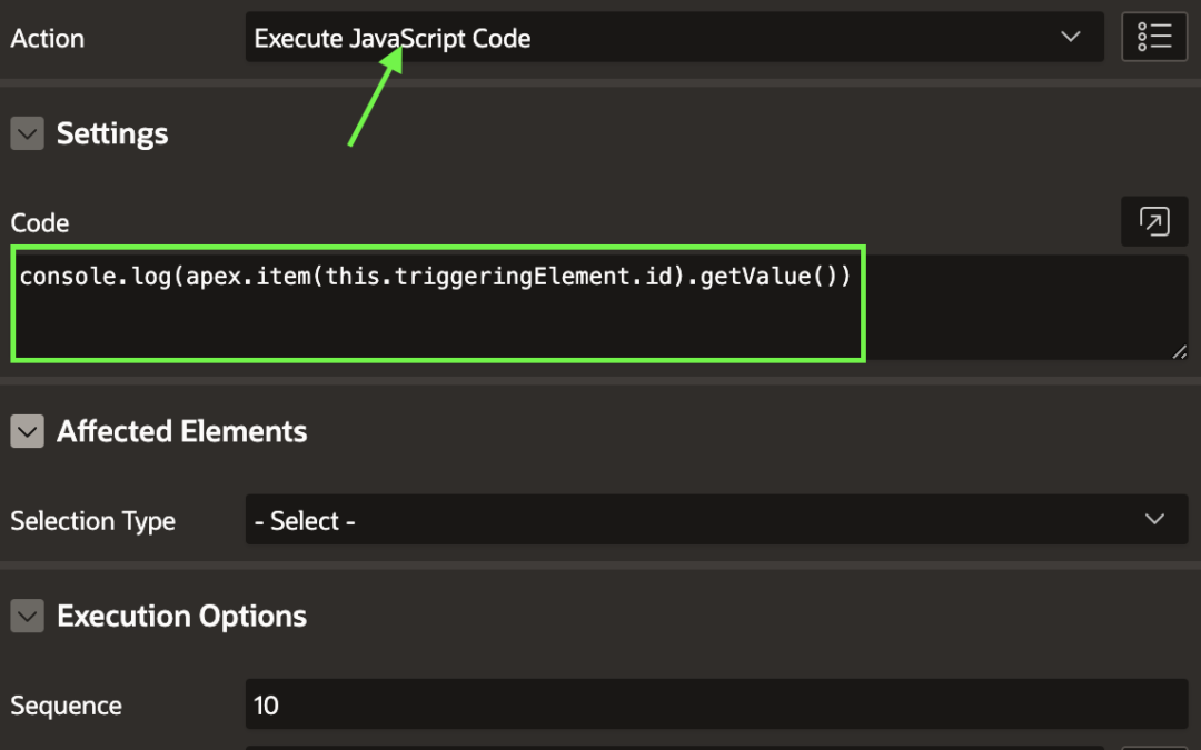 Dynamically get the value selected for autocomplete in Oracle APEX