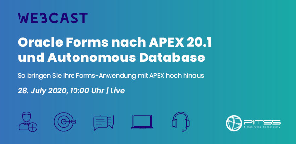 [Webcast] Oracle Forms nach APEX 20.1 und Autonomous Database