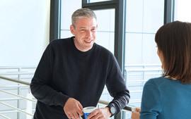 PITSS Support-Leiter Ronald Steiner im Interview mit unserer Online-Redakteurin