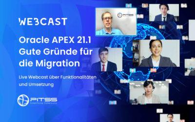 Oracle APEX 21.1 Gute Gründe für die Migration