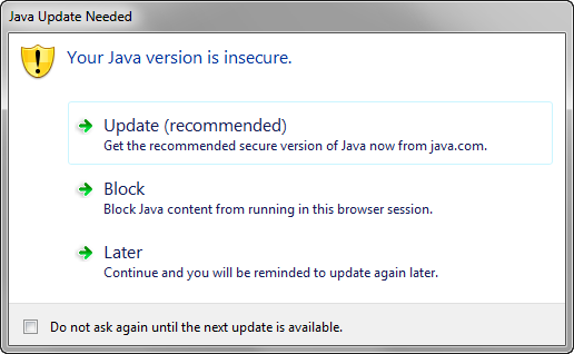 Unable to Run PITSS CON with Java Runtime 7 Update 45 - PITSS US