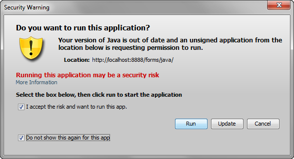 Unable to Run PITSS CON with Java Runtime 7 Update 45