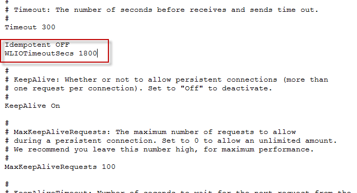 "Long Running Reports Crash with ""Failure of server APACHE bridge"
