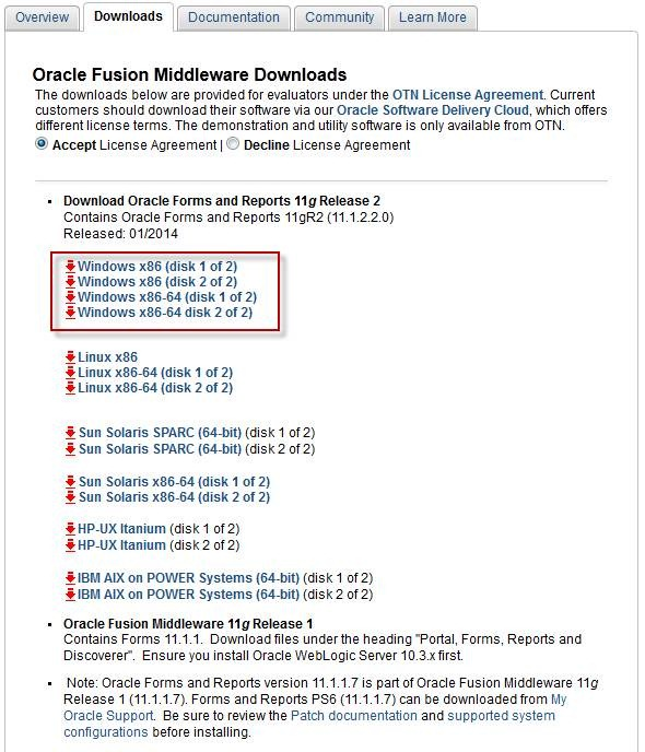 Oracle Form And Report 12c Download