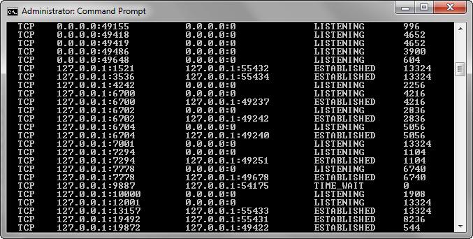 WebLogic AdminServer Port Conflict Remote Running on PC