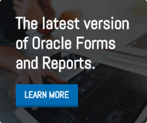 Learn more about the latest version of Oracle Forms and Reports.