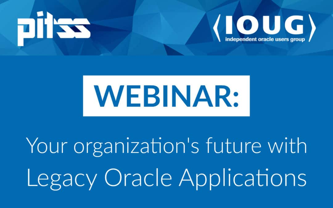 View Our Webinar with IOUG