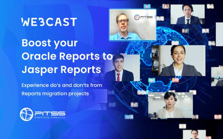 [Webcast] Boost your Oracle Reports2Jasper Reports